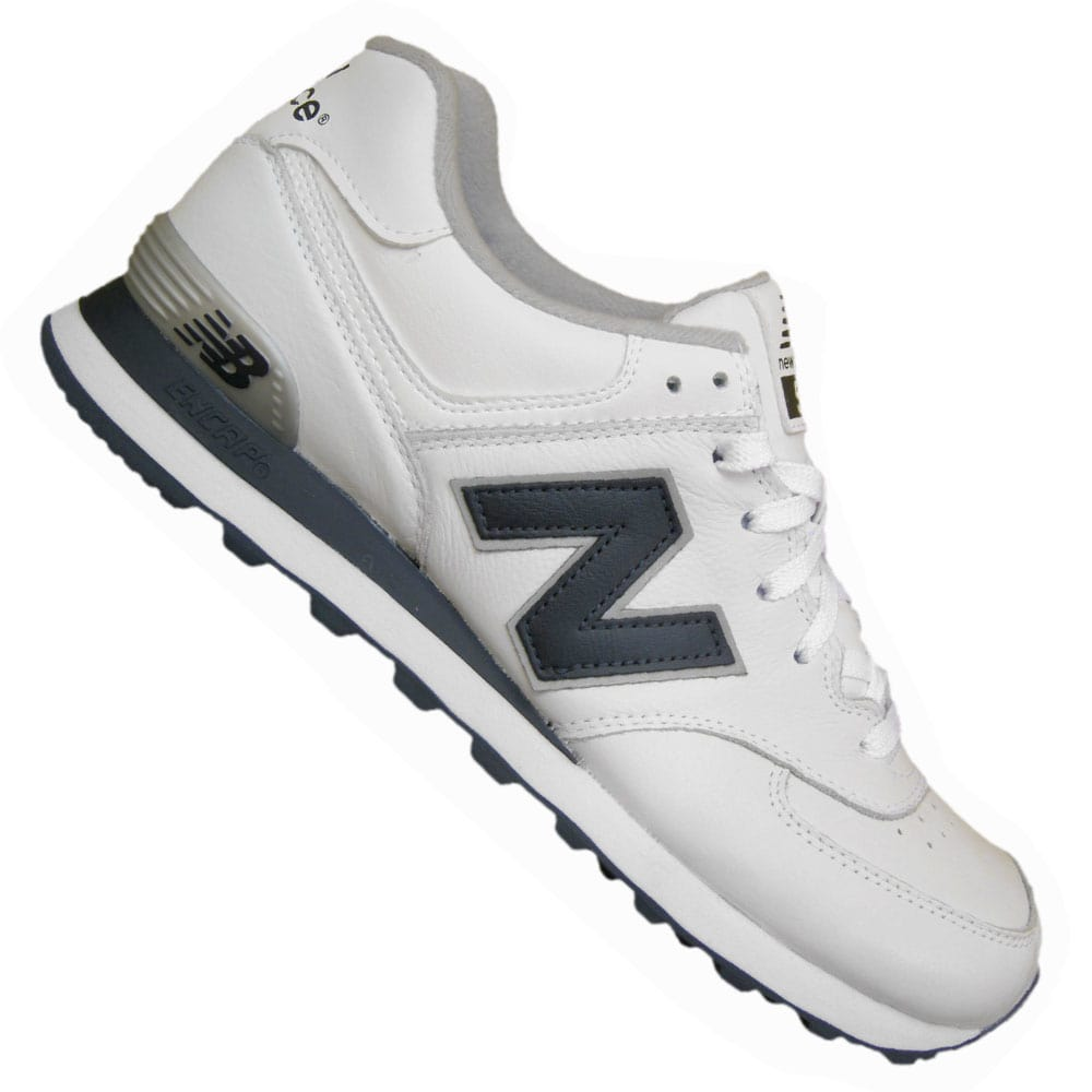 new balance 574 white navy