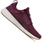 New Balance Fresh Foam Cruz Herren-Laufschuhe Burgundy