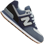 New Balance 574 Kinder-Sneaker Pigment/Black