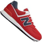 New Balance ML574SCH Red/Indigo
