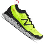 New Balance Fresh Foam Hierro V3 Herren-Laufschuhe Black/Yellow