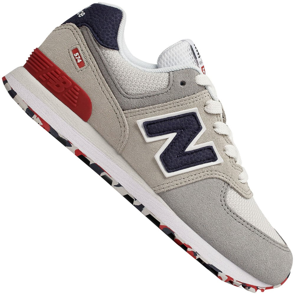 New Balance 574 Kleinkind-Sneaker Cloud/Red
