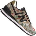 New Balance 574 Sweet Nectar Pack Sneaker Black/Gold