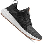 New Balance Fresh Foam Cruz Damen-Laufschuhe Black/White