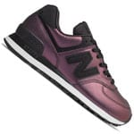 New Balance 574 Metallic Shimmer Damen-Sneaker Black