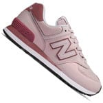 New Balance 574 Sheen Pack Damen-Sneaker Conch Shell