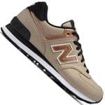 New Balance 574 Damen-Sneaker Copper/Champagne