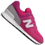 New Balance 574 Kinder-Sneaker Pink/Grey