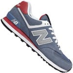 New Balance ML574CPJ Herren-Sneaker Blue/Red