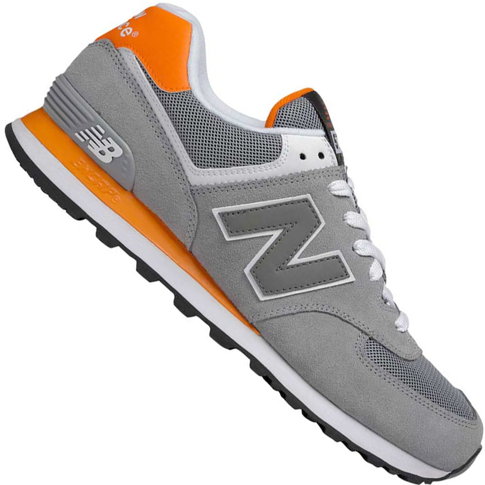 new balance orange herren