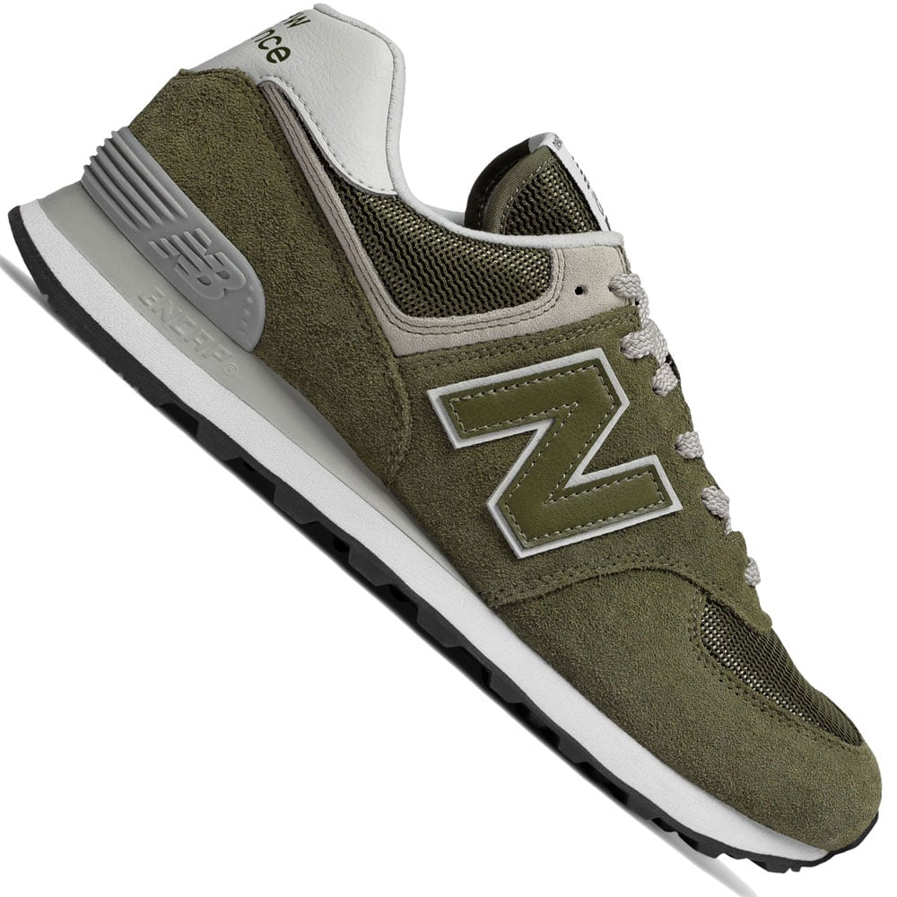 new balance 574 herrenschuhe olive