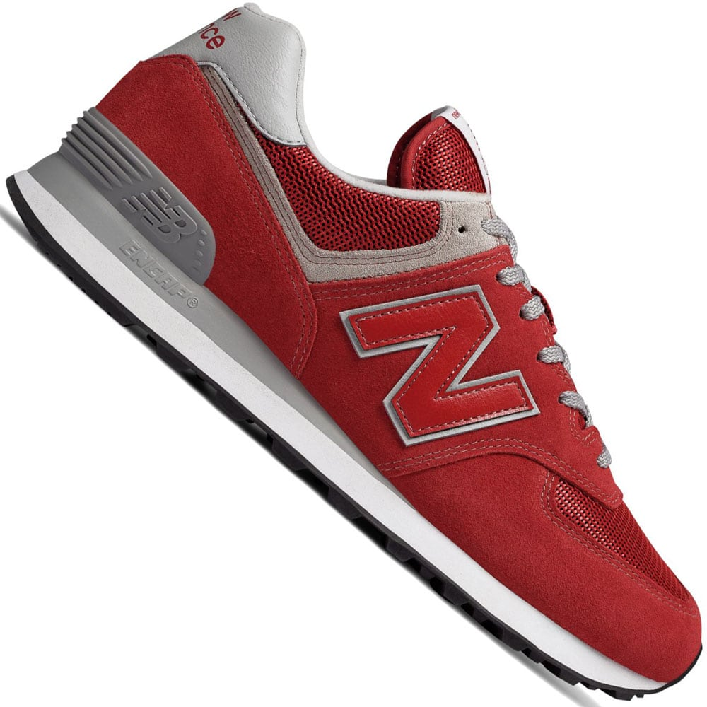 New Balance 574 Herren-Sneaker Team Red