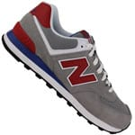 New Balance ML 574 MOX Herren-Sneaker 450591-60-12 Grey/Red