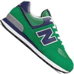 New Balance 574 Kleinkind-Sneaker Green/Blue