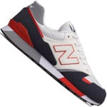 New Balance Herren-Sneaker White/Navy/Red