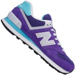 New Balance WL574CPH Damen-Sneaker Purple/Blue