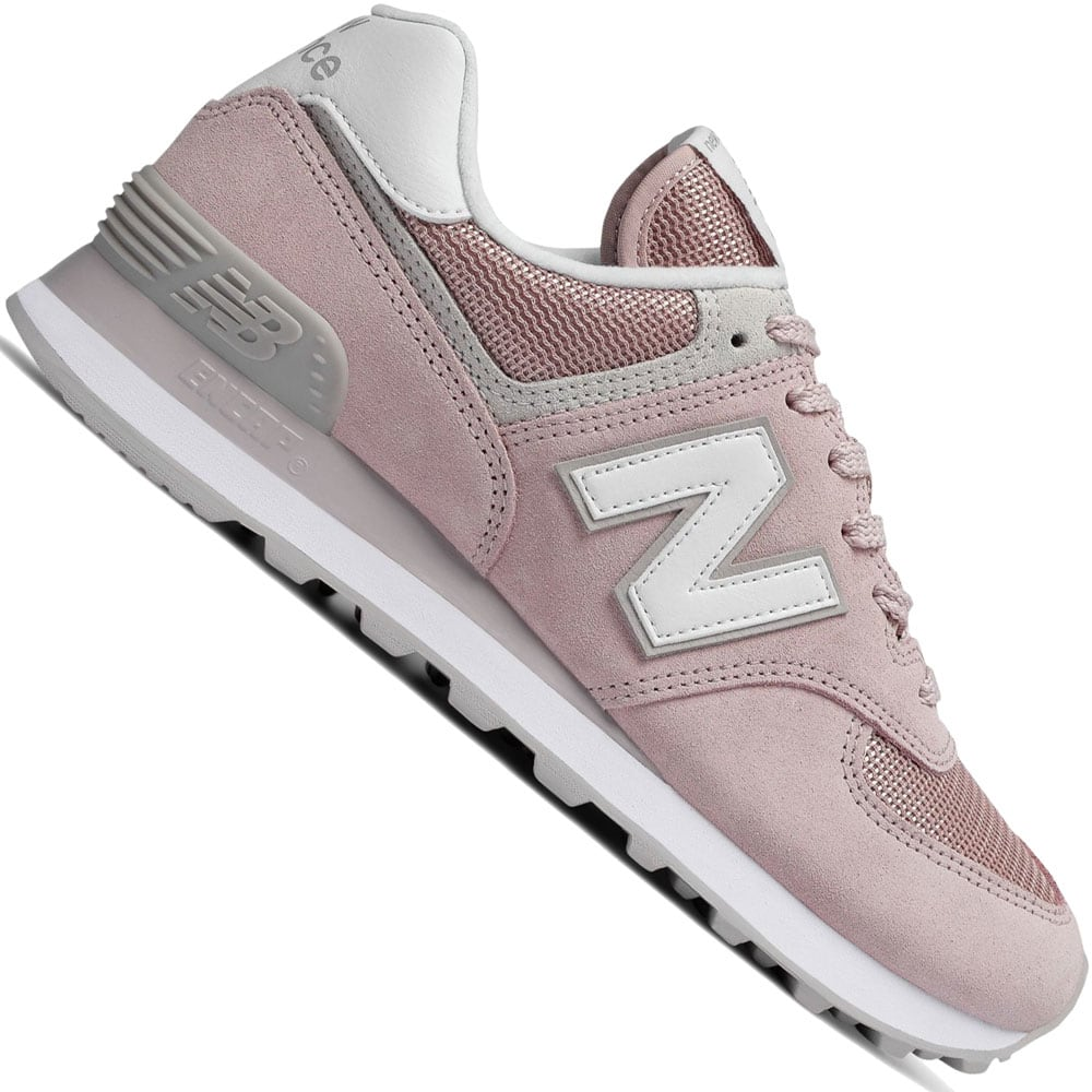 new balance damen 574 textile sneakers