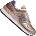 New Balance 574 Damen-Sneaker Metallic Gold