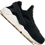 Nike Air Huarache Run Damen-Sneaker Black/Deep Green