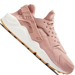 Nike Air Huarache Run Damen-Sneaker Particle Pink/Mushroom