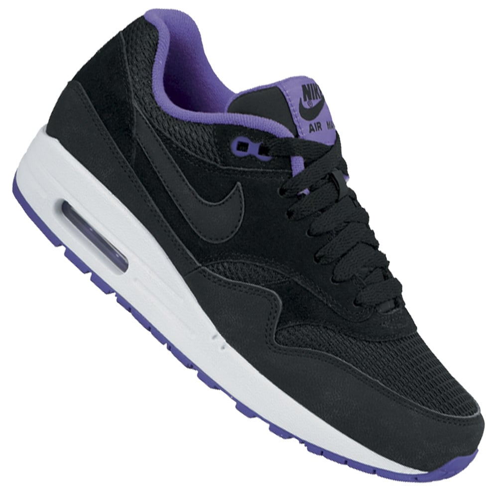nike air max 1 essential damen sneaker 599820 006 schwarz. Black Bedroom Furniture Sets. Home Design Ideas