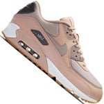 Nike Air Max 90 Damen-Sneaker Particle Beige/Moon Particle