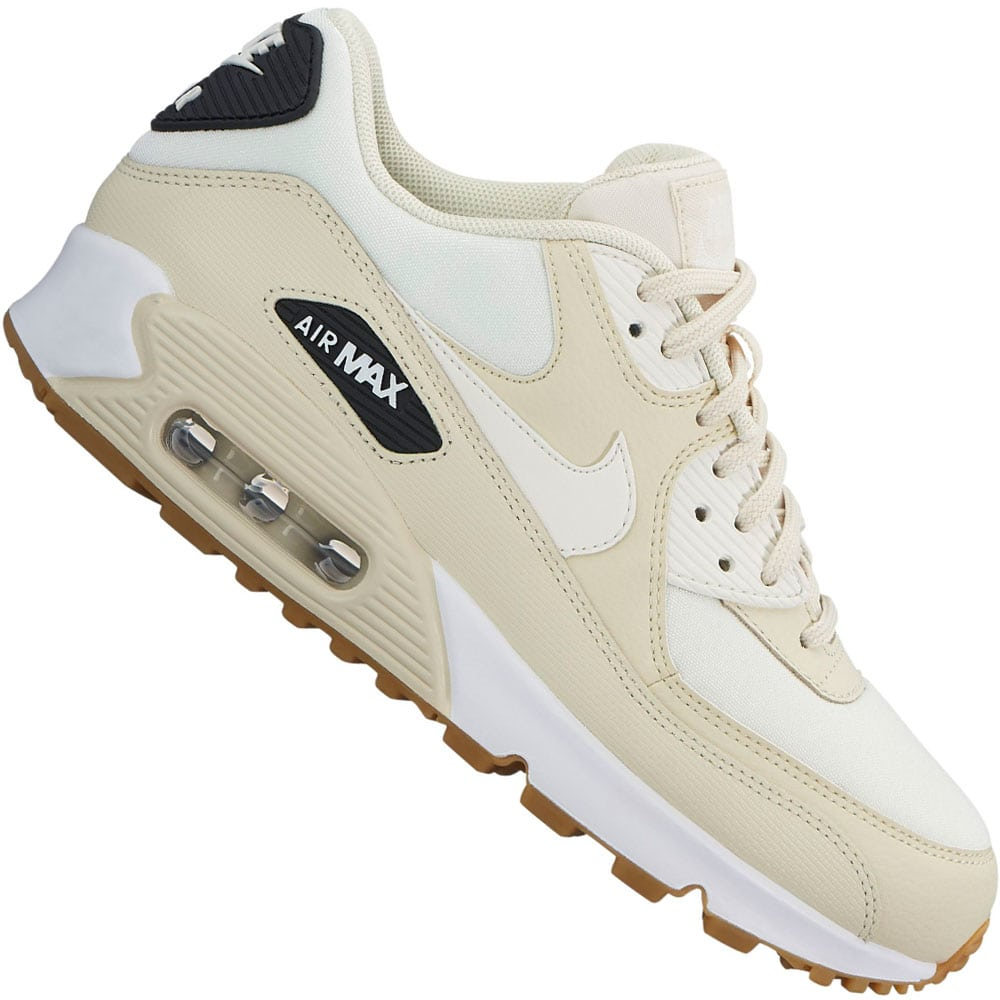 Nike Air Max 90 Damen-Sneaker Fossil/Sail-Black
