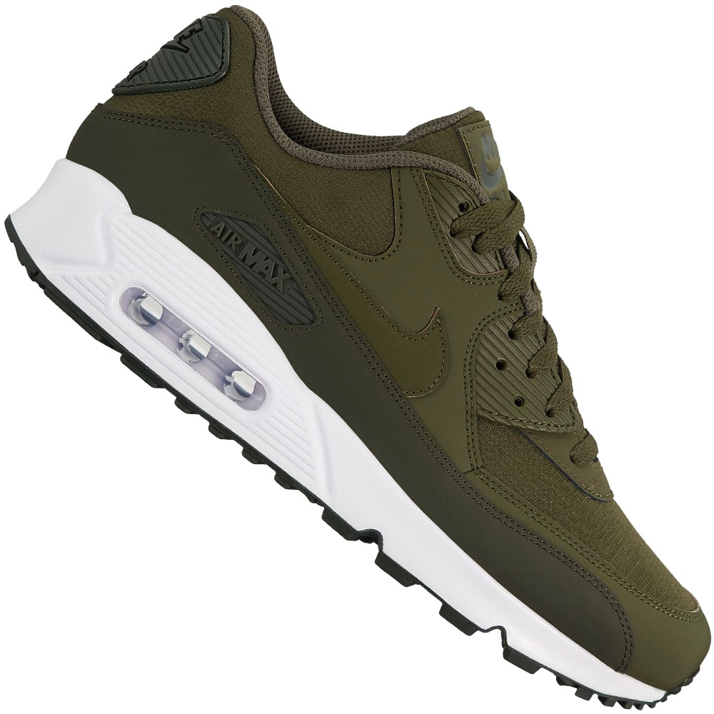 info for d5080 a7086 Nike Air Max 90 Essential Herren-Sneaker Sequoia Cargo