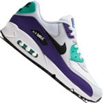Nike Air Max 90 Essential Sneaker White-Black-Jade