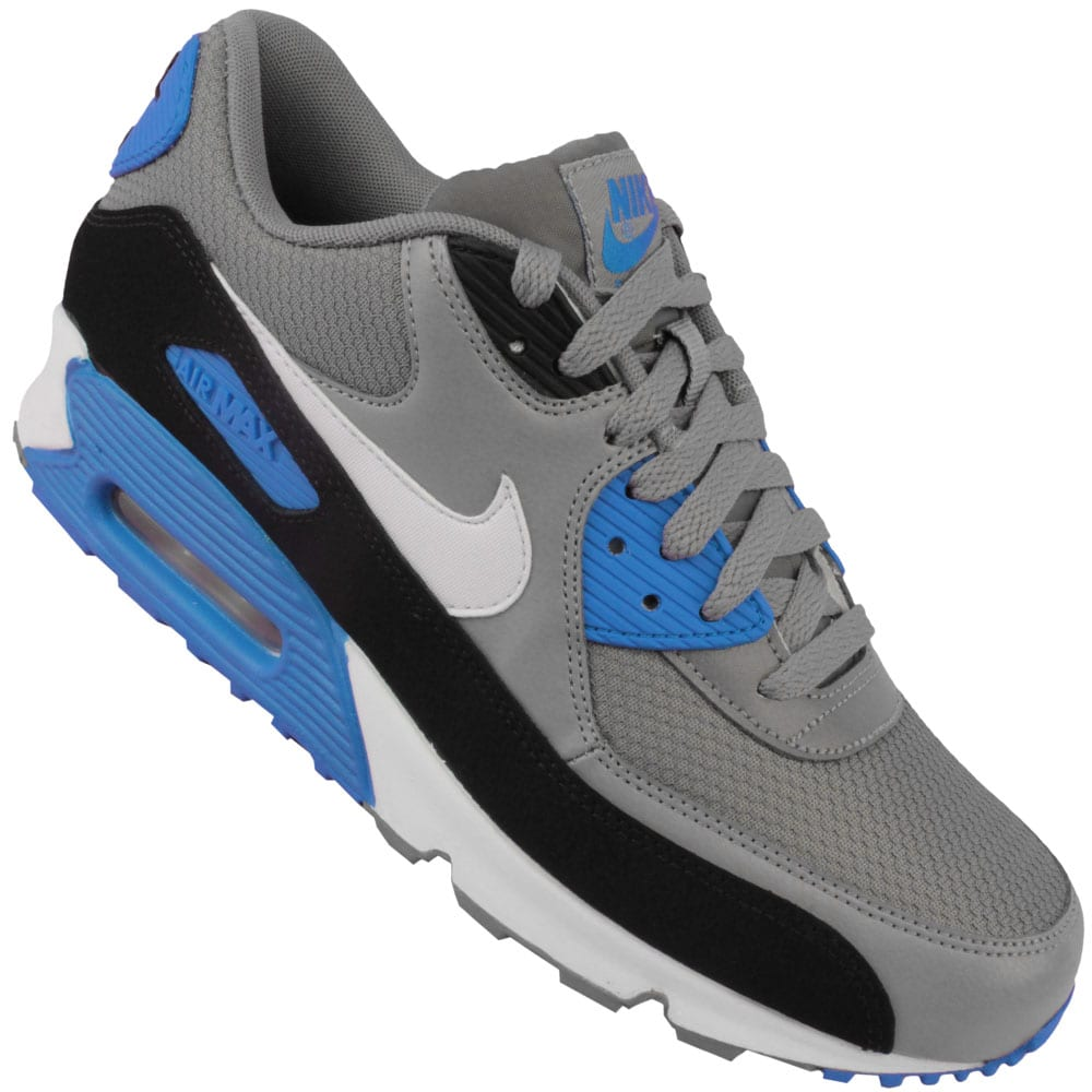 nike air max 90 essential 537384 004 grey white online. Black Bedroom Furniture Sets. Home Design Ideas
