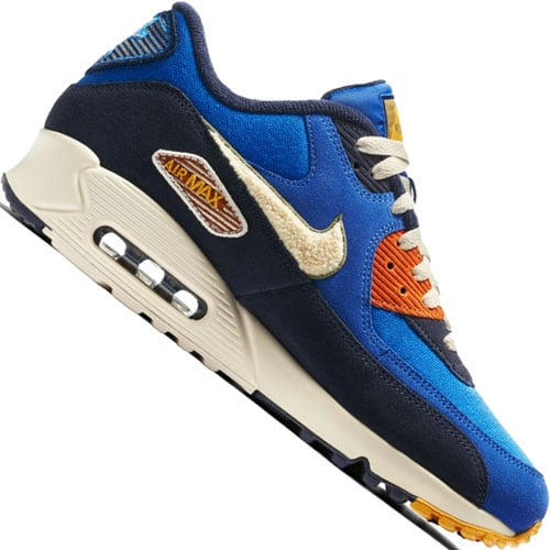 Nike Air Max 90 Premium SE Herren-Sneaker Game Royal