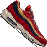 Nike Air Max 95 Premium Herren-Sneaker Red Crush/Provence