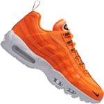Nike Air Max 95 Premium Herren-Sneaker Total Orange