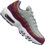 Nike Air Max 95 Premium Damen Sneaker Bordeaux