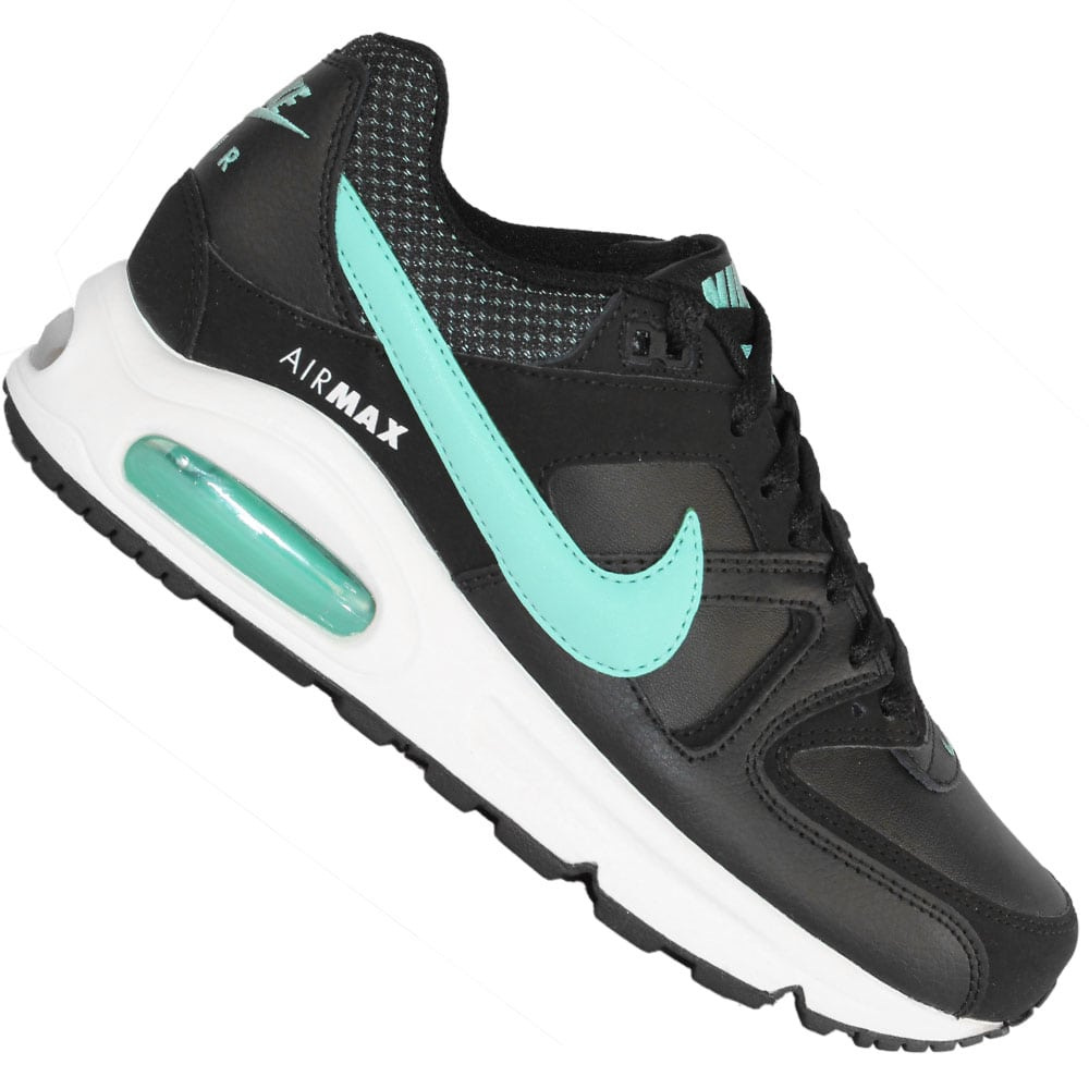 5090a2c31bf366 Nike WMNS Air Max Command 397690 031 (Black Hyper Turquoise-White ...