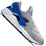 Nike Air Huarache Sneaker Wolf Grey/Game Royal-Dark Grey