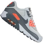Nike Air Max 90 Leather (GS) Kinder-Sneaker Pure Platinum