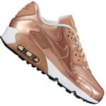 Nike Air Max 90 SE Leather (GS) Kinder-Sneaker Metallic