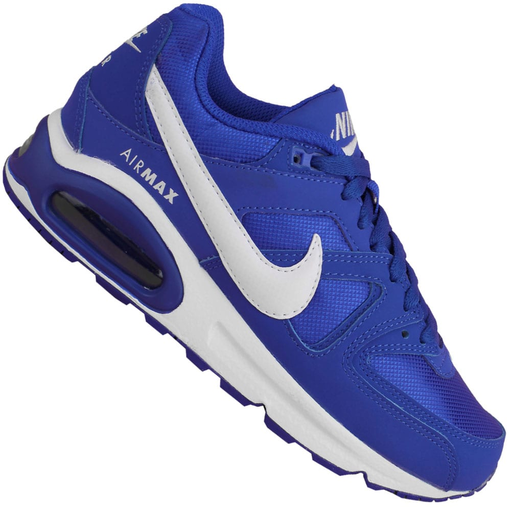 nike wmns air max command damen sneaker racer blue white. Black Bedroom Furniture Sets. Home Design Ideas