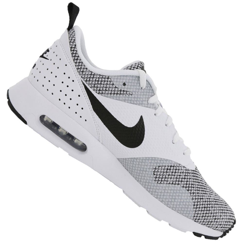 fee4ef8728d4fb Nike Air Max Tavas Premium Herren-Sneaker White Black-Pure