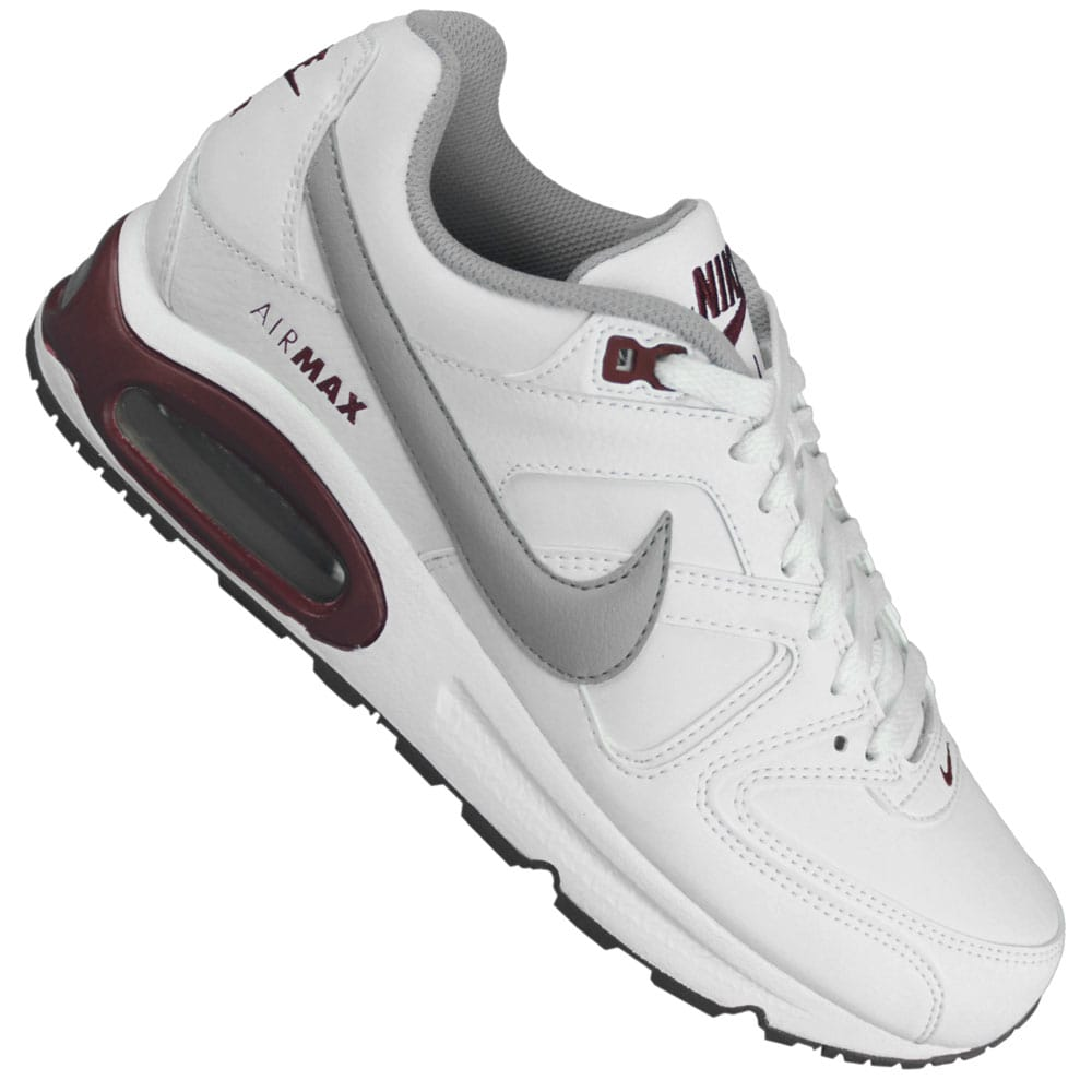 lowest price 6fcb0 b6eca ... Nike Air Max Command Leather 409998 108 (white grey red) ...