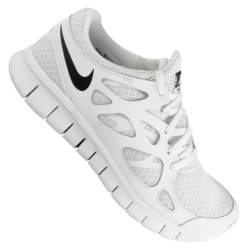 innovative design c0c02 4f36c Nike Free Run 2 NSW Laufschuh Herren 540244-101 (WhiteBlackWhite)