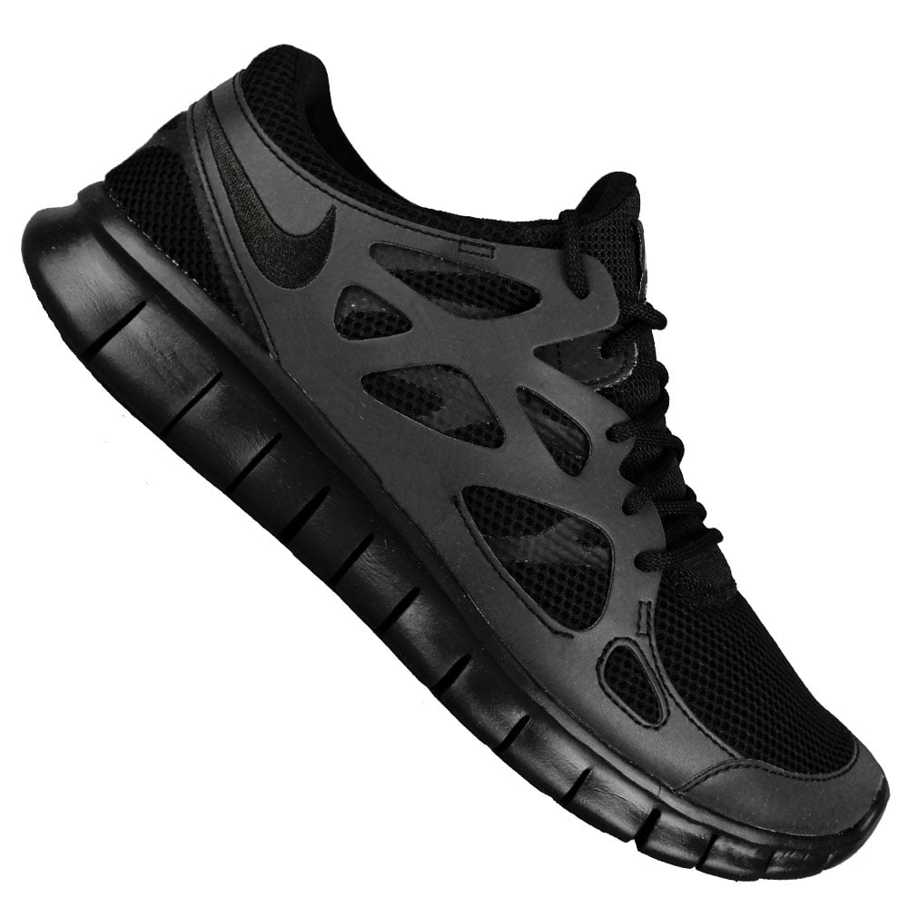 nike free run 2 herren laufschuh 537732 010 black metallic. Black Bedroom Furniture Sets. Home Design Ideas