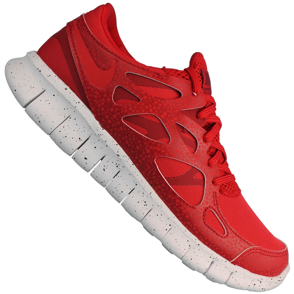 nike free run 2 prm herren laufschuhe team red fun sport. Black Bedroom Furniture Sets. Home Design Ideas