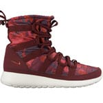 Nike Roshe One Hi Print 807425-600 Damen-Stiefel Deep Garnet/Gym Red