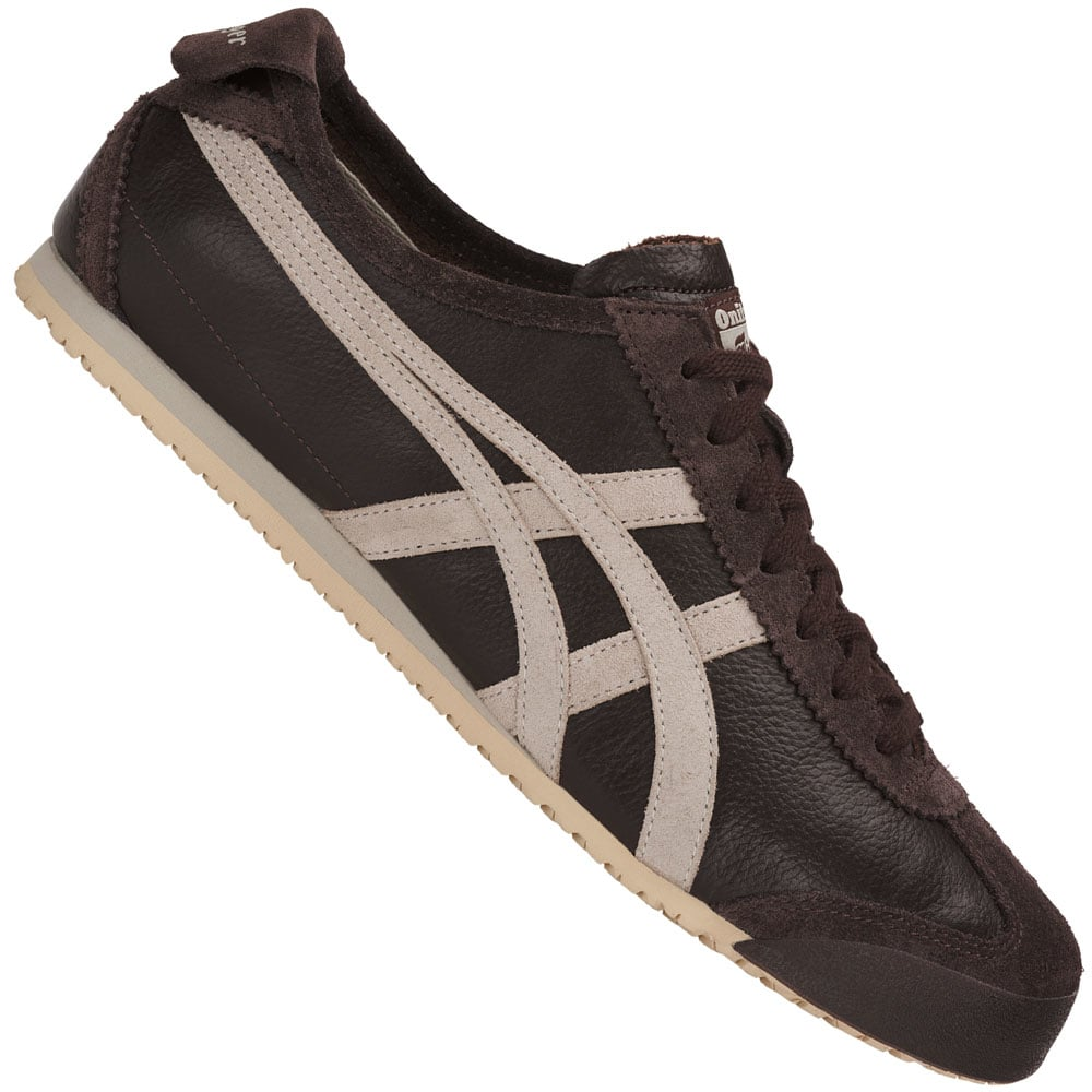 Onitsuka Tiger Mexico 66 Vin Unisex-Sneaker Coffee/Feather Grey