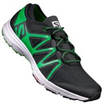 Salomon Crossamphibian Swift Laufschuhe Black/Classic Green