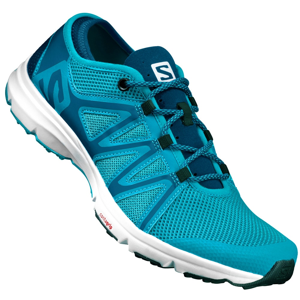 Salomon Crossamphibian Swift Herren Laufschuhe Cloisonne/Blue