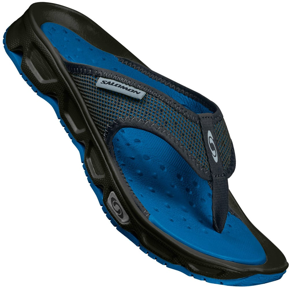 Salomon RX Break Herren Schlappen BlackImperial Blue | Fun