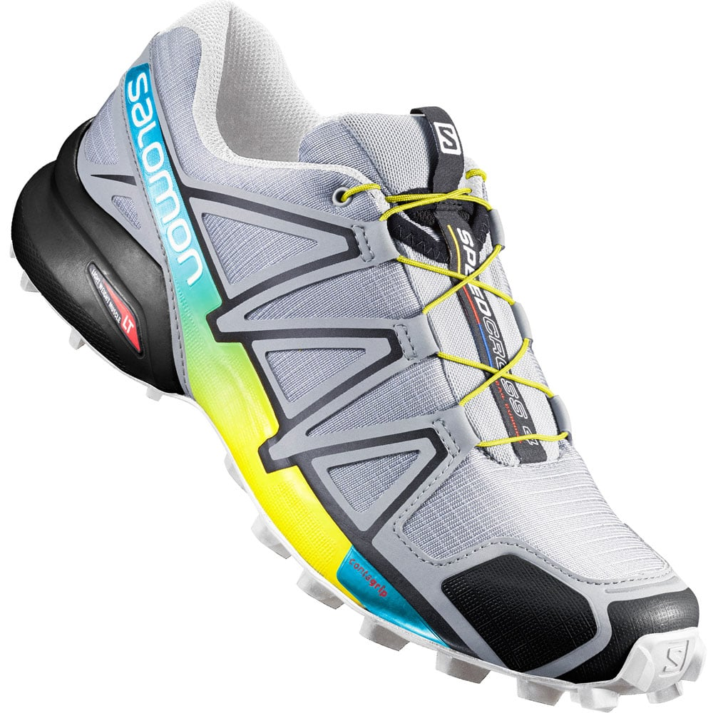 d3a2d0eecf1559 Salomon Speedcross 4 Herren-Laufschuhe Onix Black Yellow